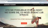 Kariera-Poznan strona internetowa 2015