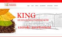 Kinghurt.pl strona internetowa z interaktywną mapą oddziałów