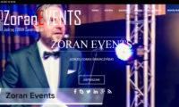 Zoranevents.com - strona internetowa